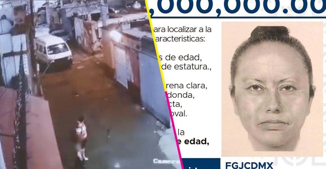 FGJ de la CDMX difunde retrato de la mujer que se llevó a Fátima