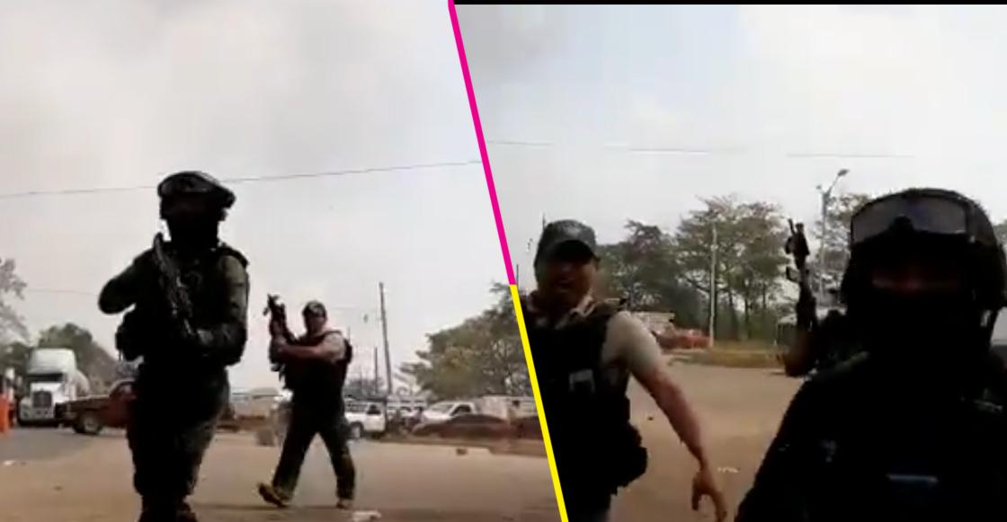Elementos de seguridad en Veracruz agredieron a periodistas que cubrían enfrentamiento