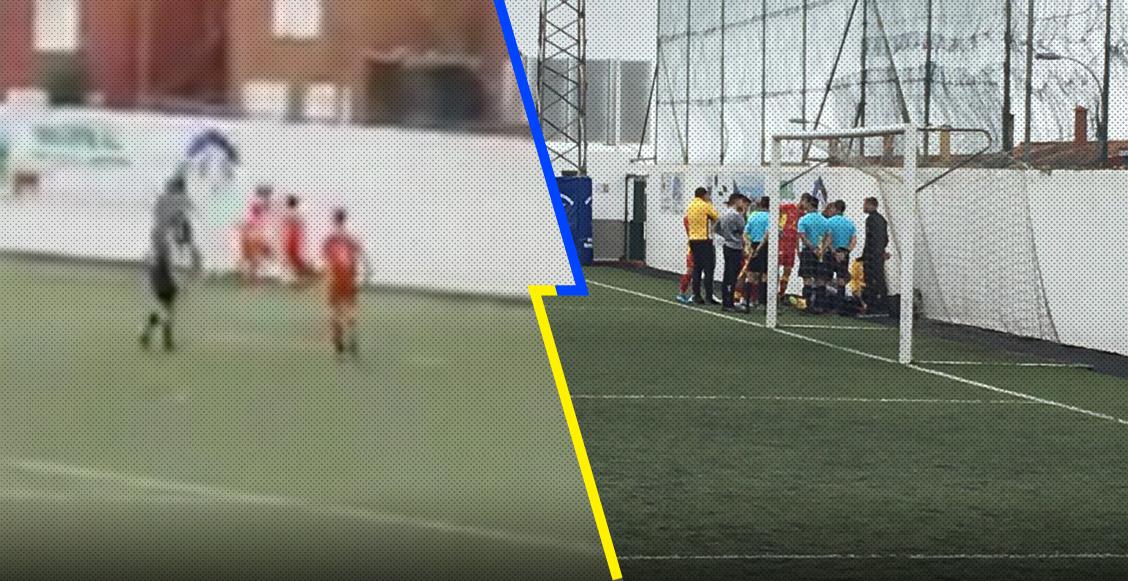 Futbolista recibió brutal golpe contra la pared y la ambulancia tardó más de 40 minutos