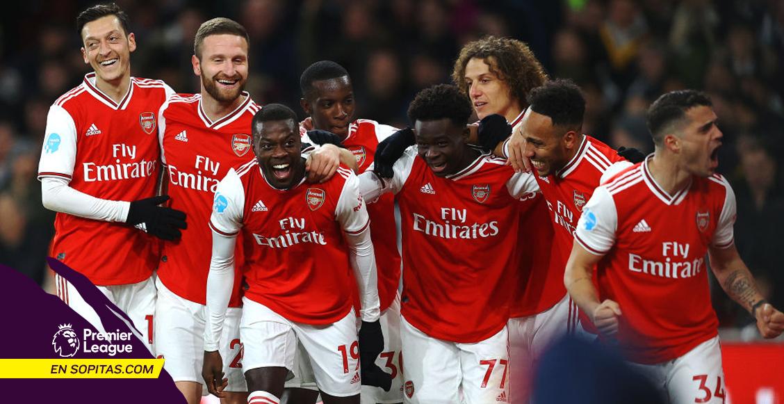 ¡Despertó!  5 minutos de inspiración le bastaron al Arsenal para golear al Newcastle