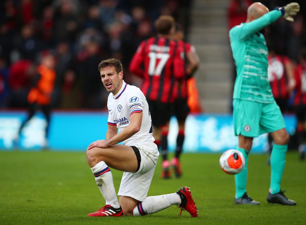 Chelsea se 'desinfló' en 3 minutos y cayeron de visita ante el Bournemouth