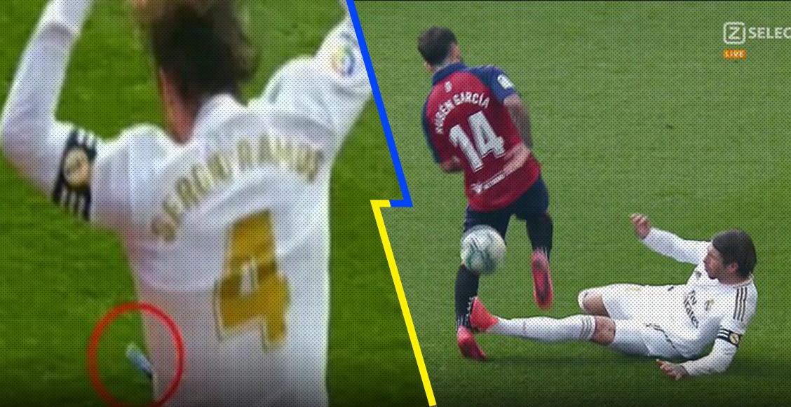 """""""Ramos muérete"""": Afición del Osasuna abucheó y atacó con todo a Sergio Ramos"""