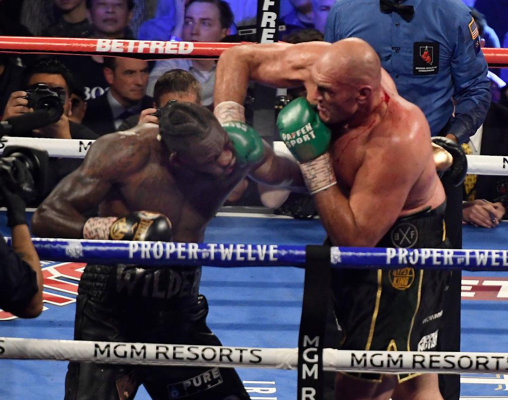 Los golpes que convirtieron en campeón mundial a Tyson Fury ante Deontay Wilder