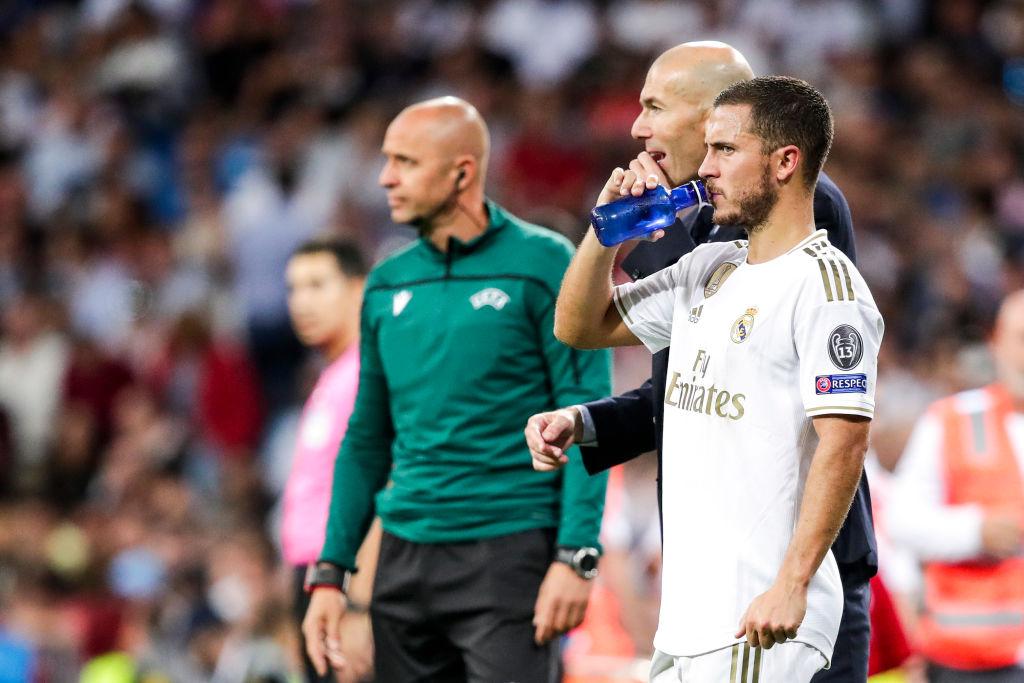 82 días después, Zidane recupera a Eden Hazard y le dará minutos ante el Celta