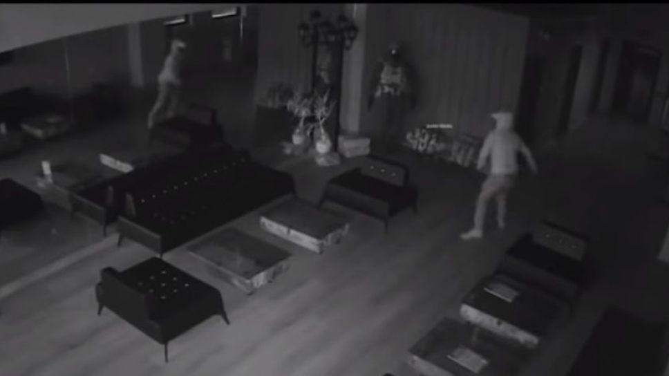 JAJAJA: Un ladrón se dio a la fuga tras asustarse con su reflejo