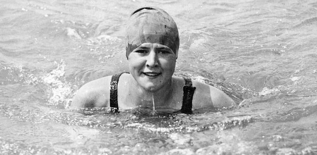 Ellas en el deporte: Gertrude Ederle la 'Reina' del Canal de la Mancha que nos enseñó a nunca rendirse