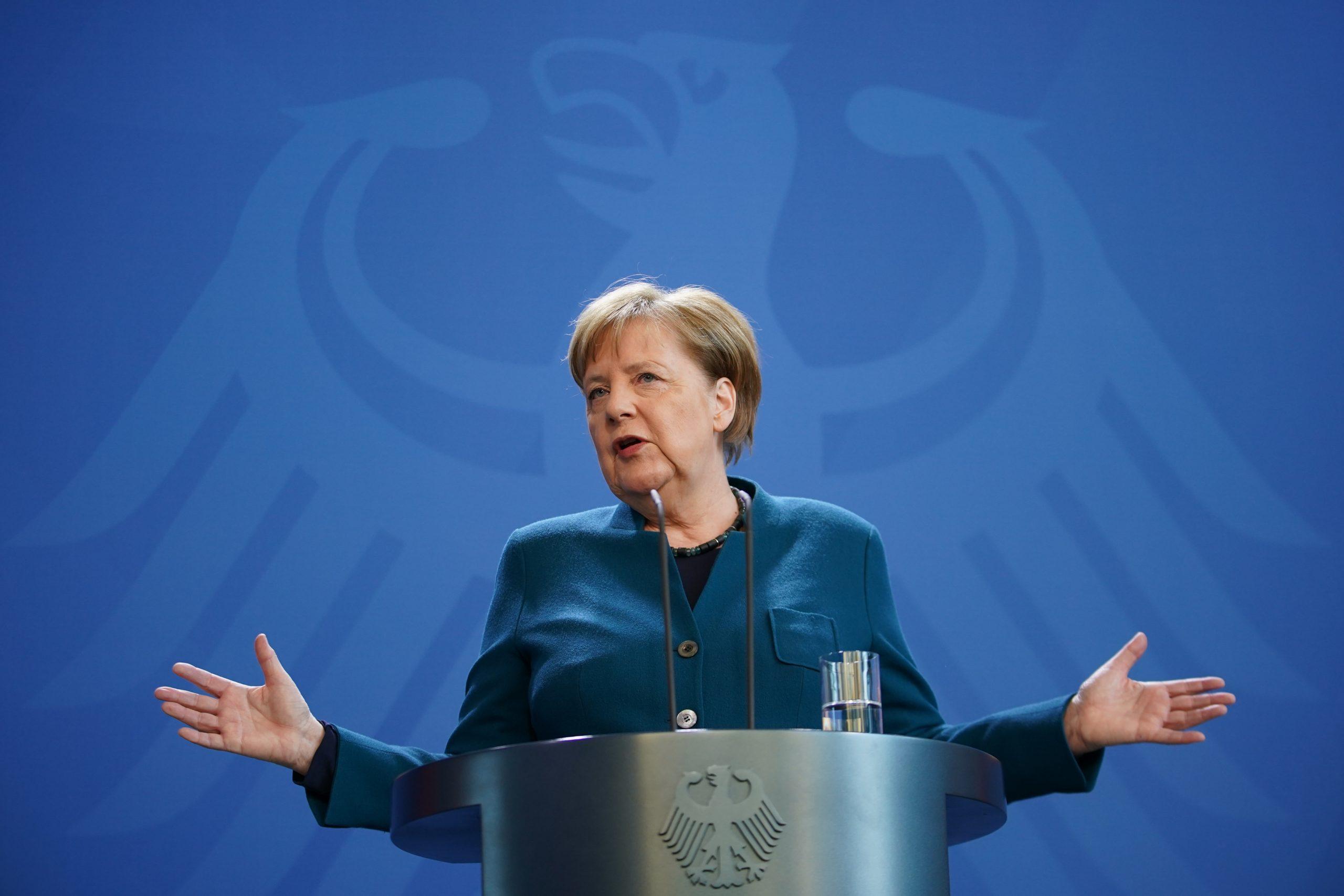 Angela Merkel entra en cuarentena; tuvo contacto con un médico infectado por coronavirus