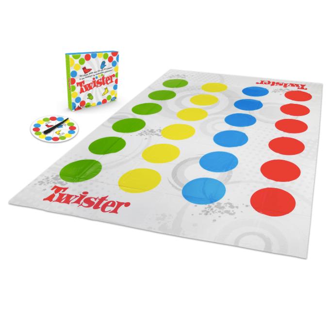 Hasbro juegos de mesa actividades familia twister