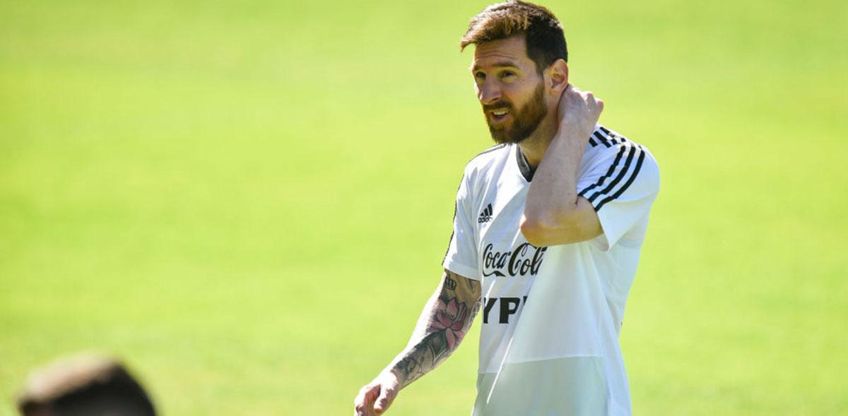 """Ustari contó el día que vio """"llorando como un nene"""" a Leo Messi"""
