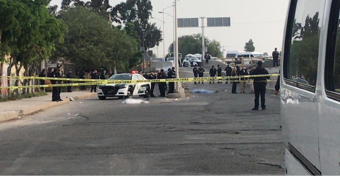 Policía que viajaba como pasajero mata a tres sujetos que habrían asaltado la unidad