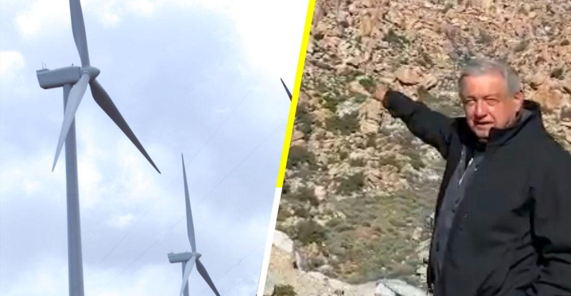"""""""No más permisos para afectar al medio ambiente"""": AMLO, tras criticar 'ventiladores' de La Rumorosa"""