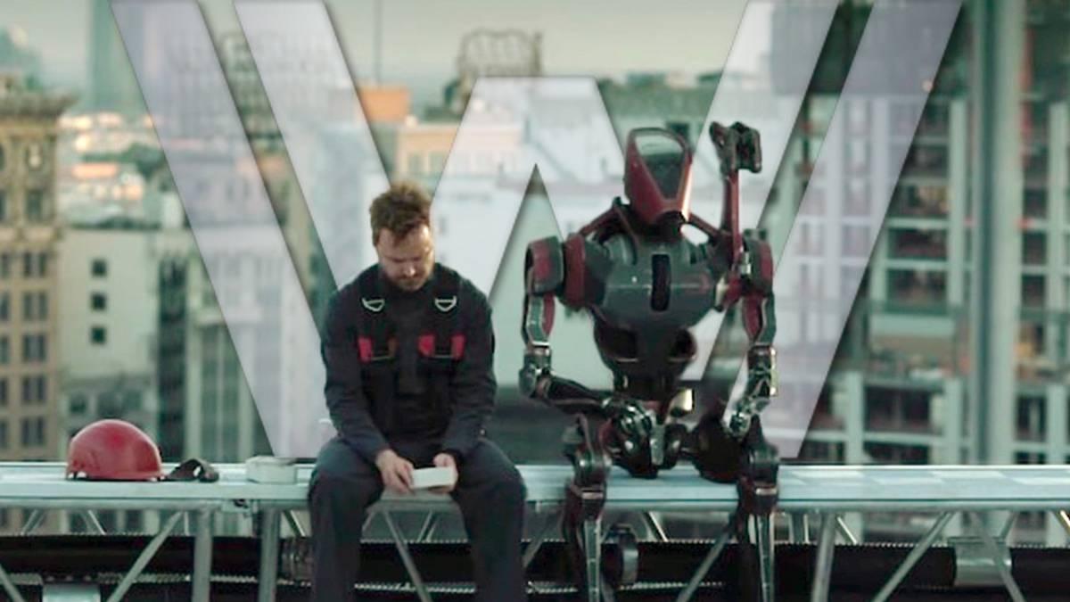Aaron Paul nos cuenta sobre su relación con la tecnología y su personaje en 'Westworld'