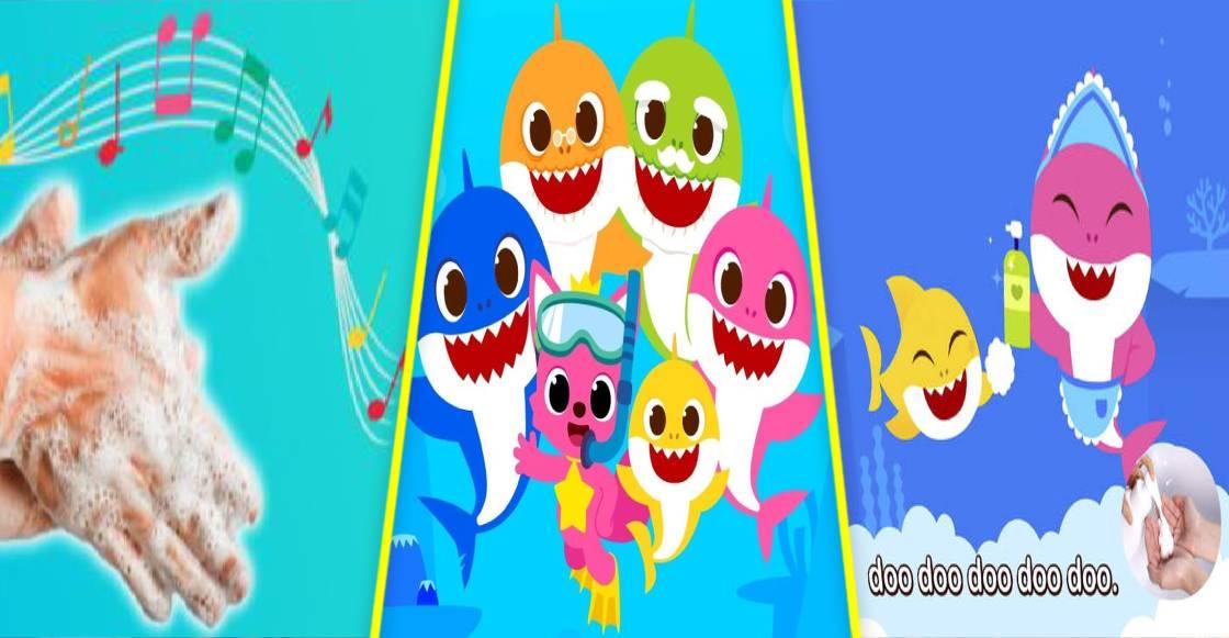 PinkFong laza nuevo vídeo para lavarse las manos al estilo de 'Baby Shark'