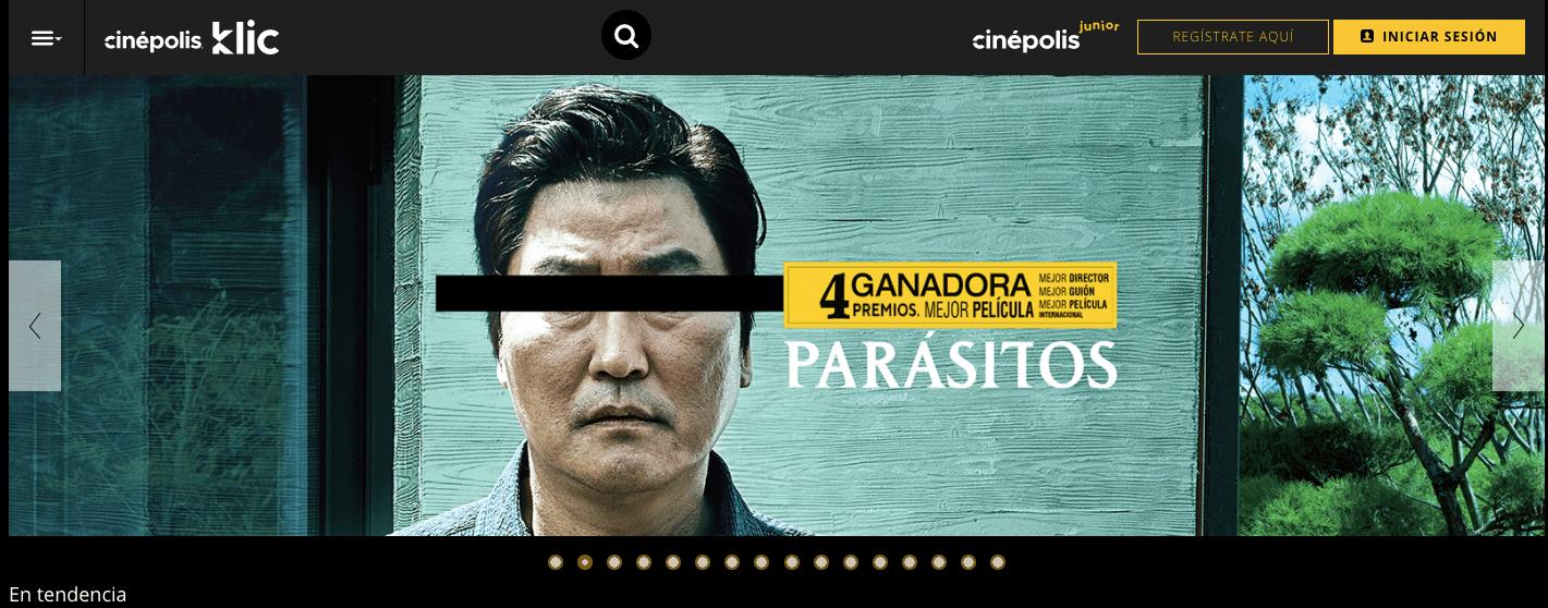 cinepolis click renta parasite - Sopitas.com