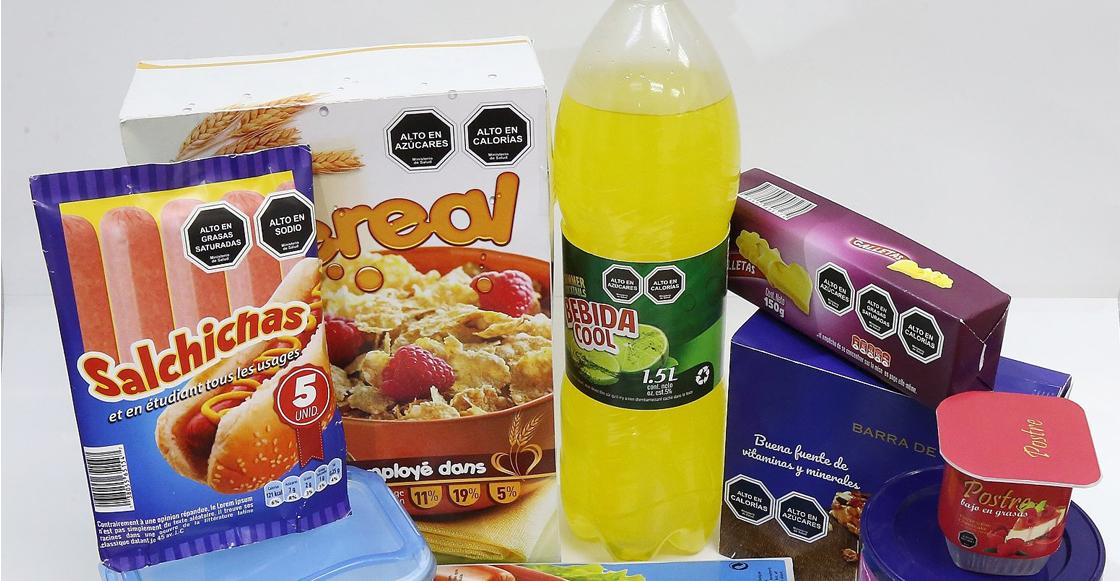 Publican nuevo etiquetado frontal de alimentos y bebidas en el Diario Oficial de la Federación