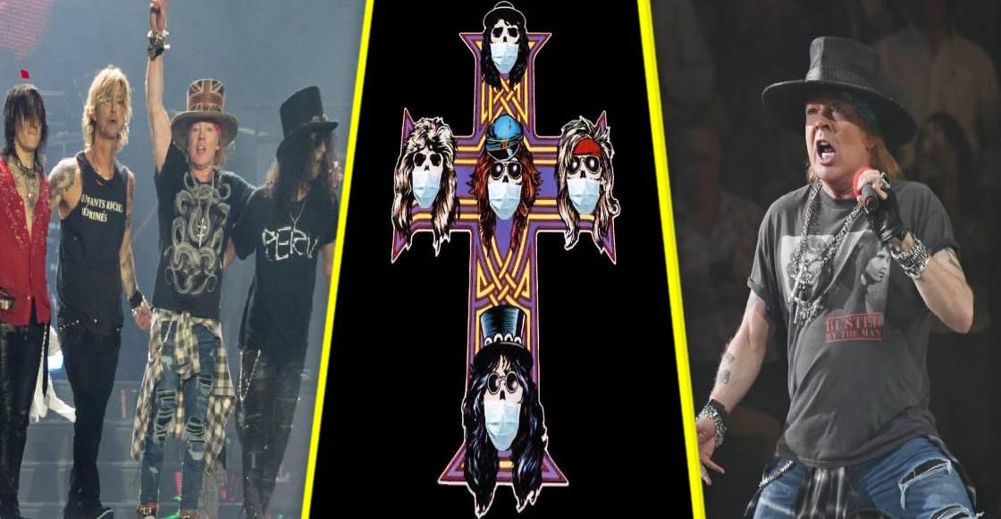 ¿November Rain? Media gira de Guns N' Roses ha sido postergada
