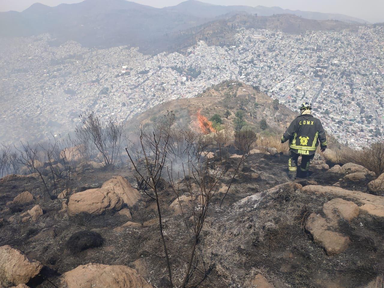incendio cerro chiquihuite 1