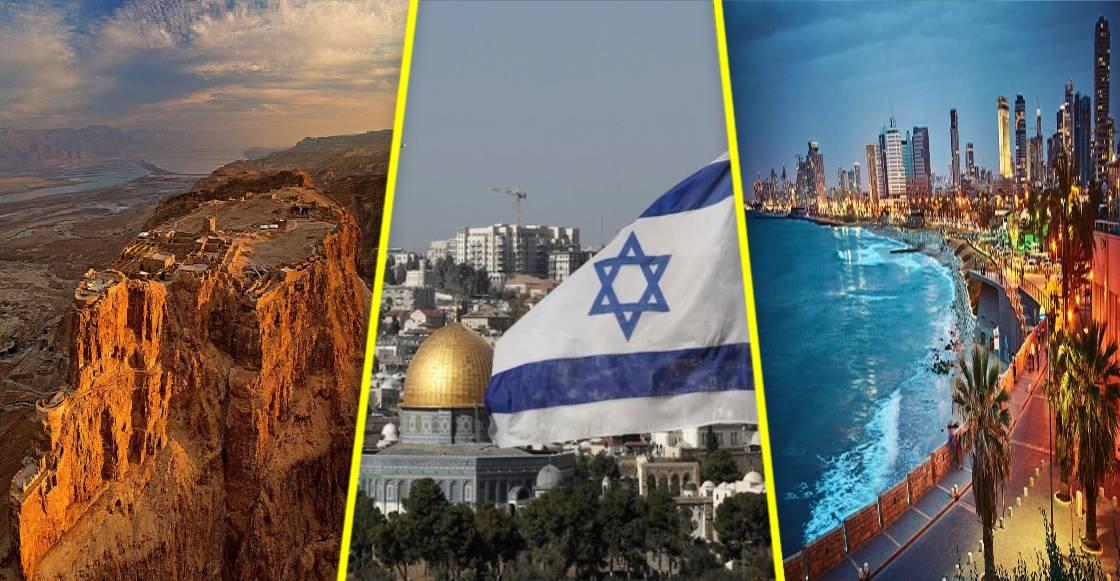 Como nunca lo habías visto: Lo mejor de Israel en un impresionante recorrido virtual