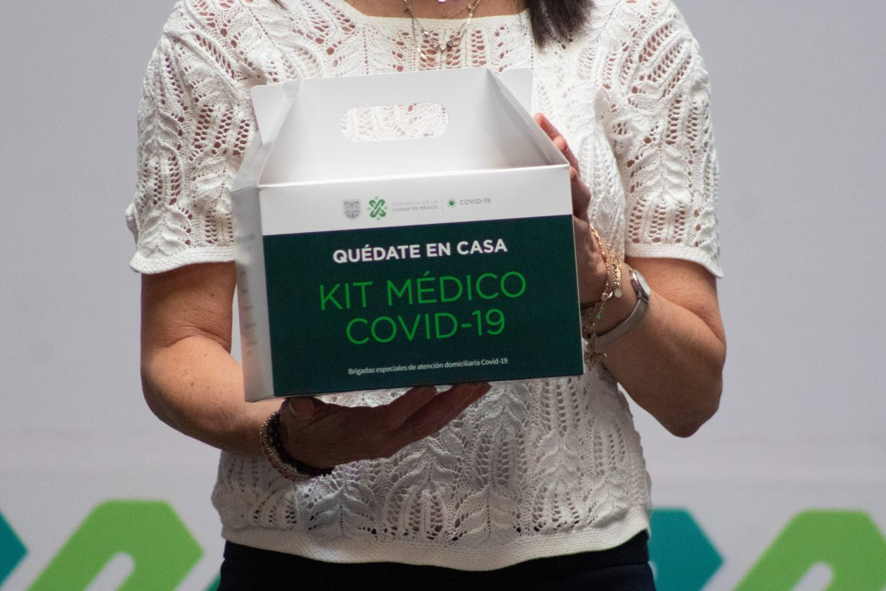 ¿Cómo y a quienes se les entregará los kits médicos que dará el gobierno de la CDMX?