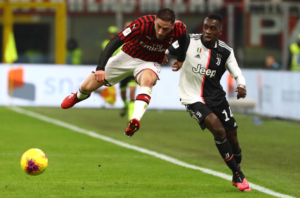 Estas son las medidas que se tomarán en el Juventus - Milan en la Coppa Italia por coronavirus