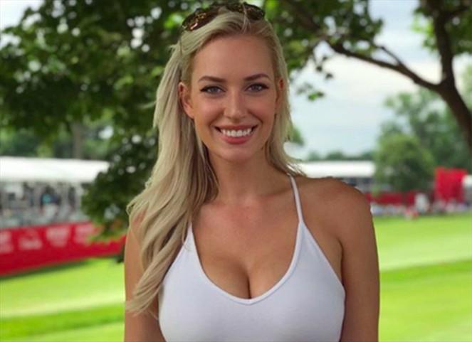 Ella es Paige Spiranac, la golfista que ha sido 'rechazada' por utilizar un 'escote pronunciado'