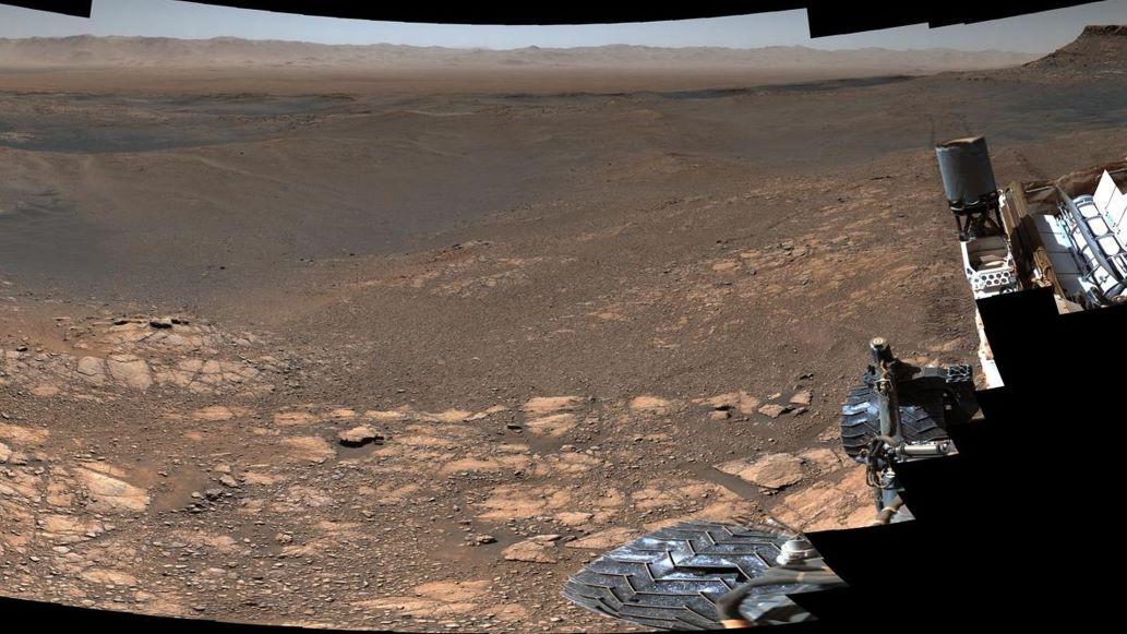¡Ay, caramba! El Curiosity logró la panorámica más nítida de la superficie marciana