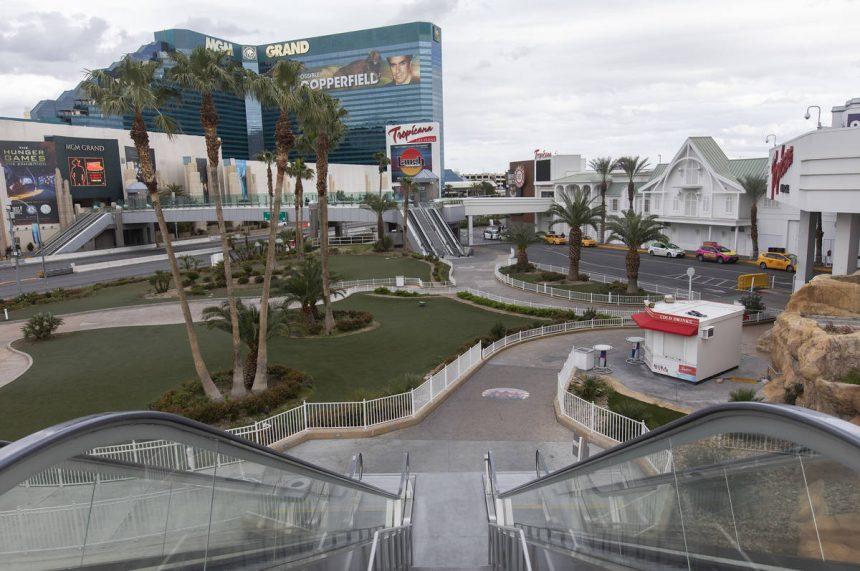 Las Vegas, 'la ciudad que nunca duerme', se va la cama por coronavirus