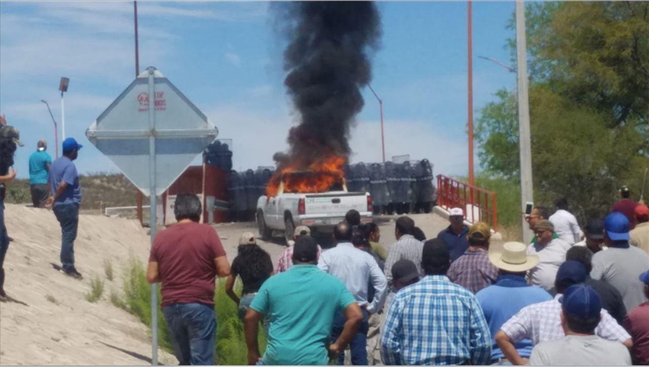 Protesta en Chihuahua por agua