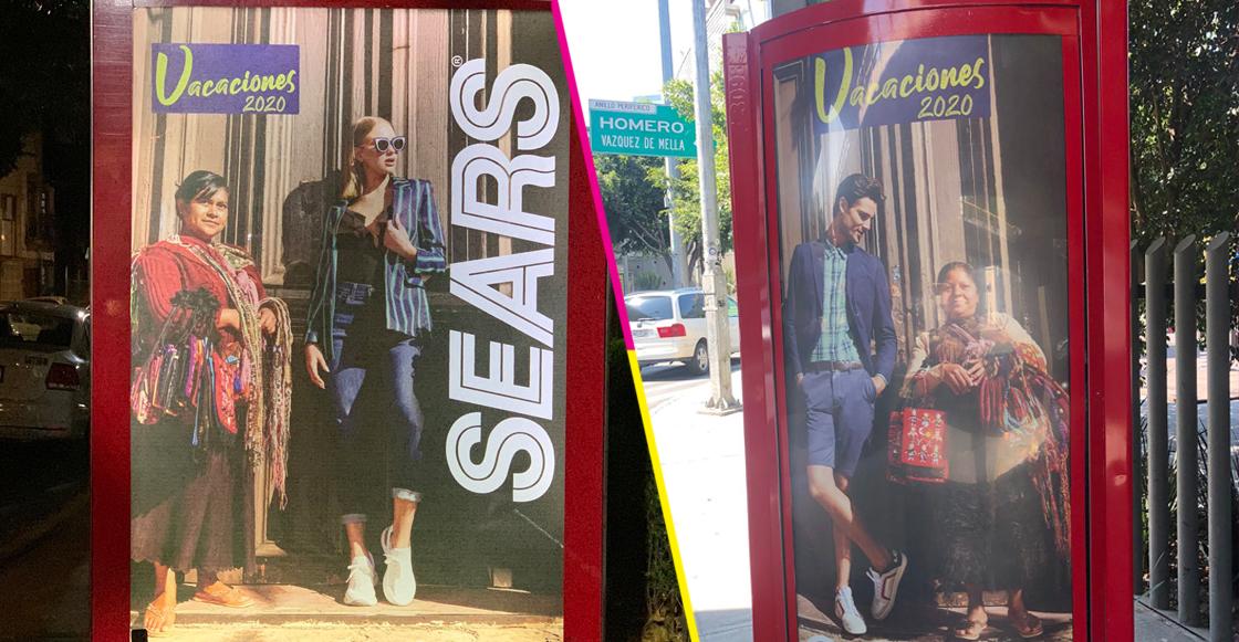 Tras críticas, Sears se disculpa por campaña y promete retirar fotos