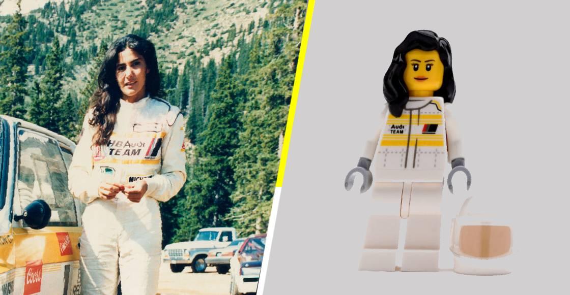 LEGO rinde homenaje a la piloto Michéle Mouton