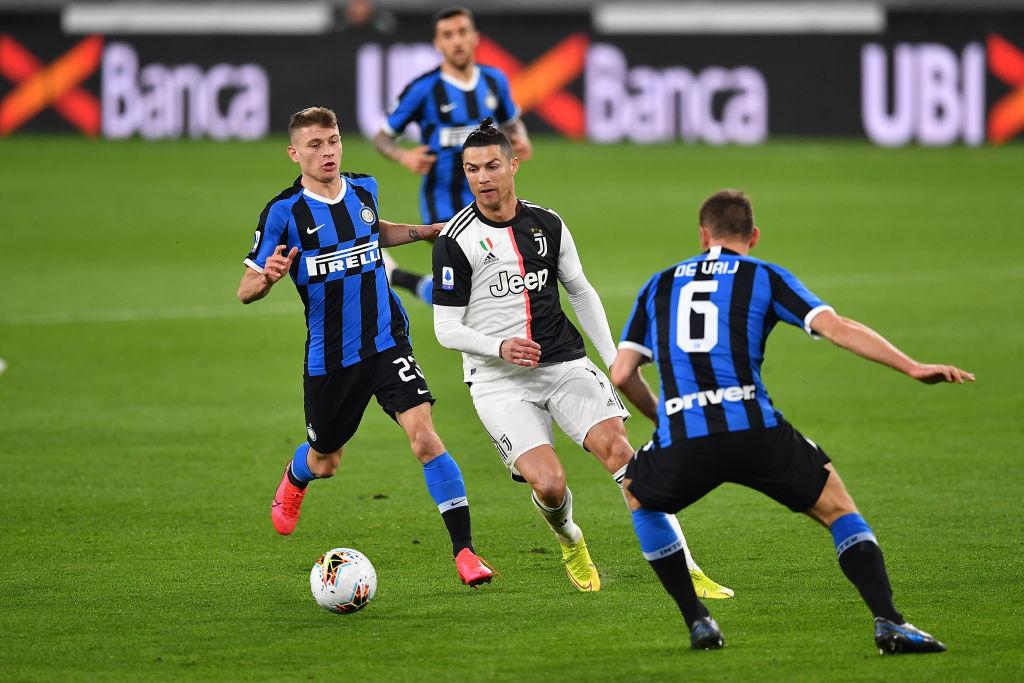 Cristiano Ronaldo celebró su partido 1000 con victoria ante el Inter de Milán