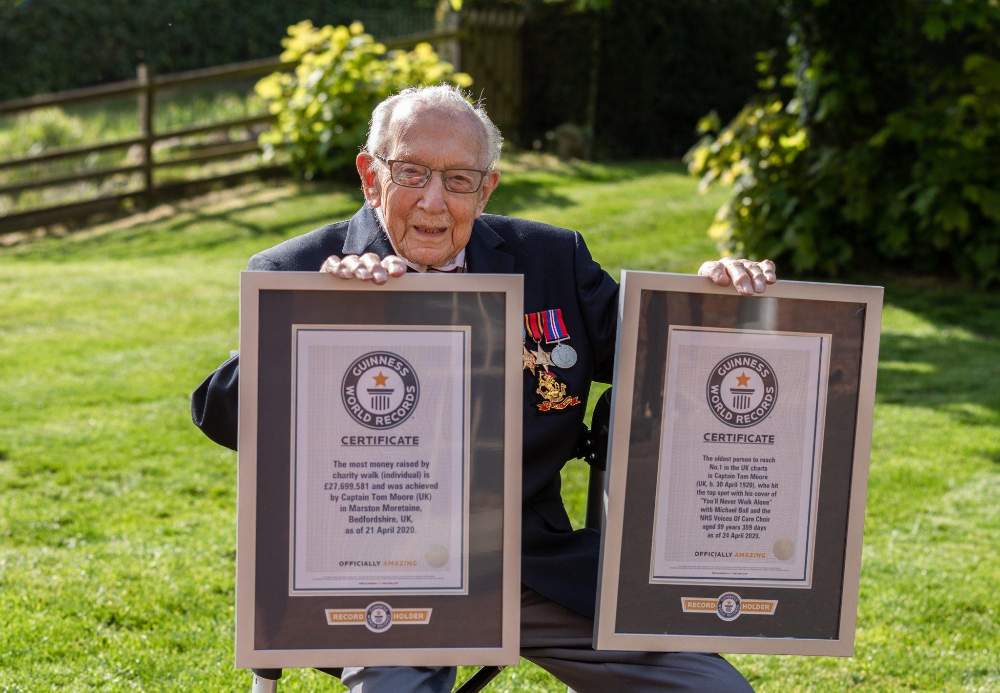 Tom Moore: El veterano de guerra que conquista los charts de música contra el coronavirus