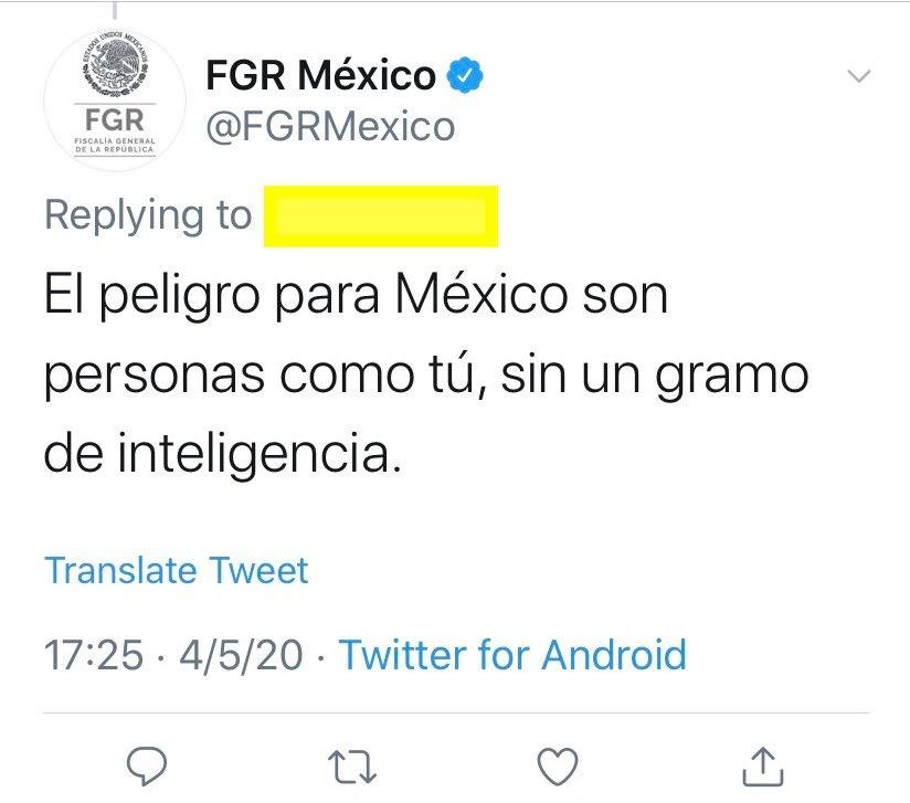 FGR-tuit-amlo-respuesta-usuaria