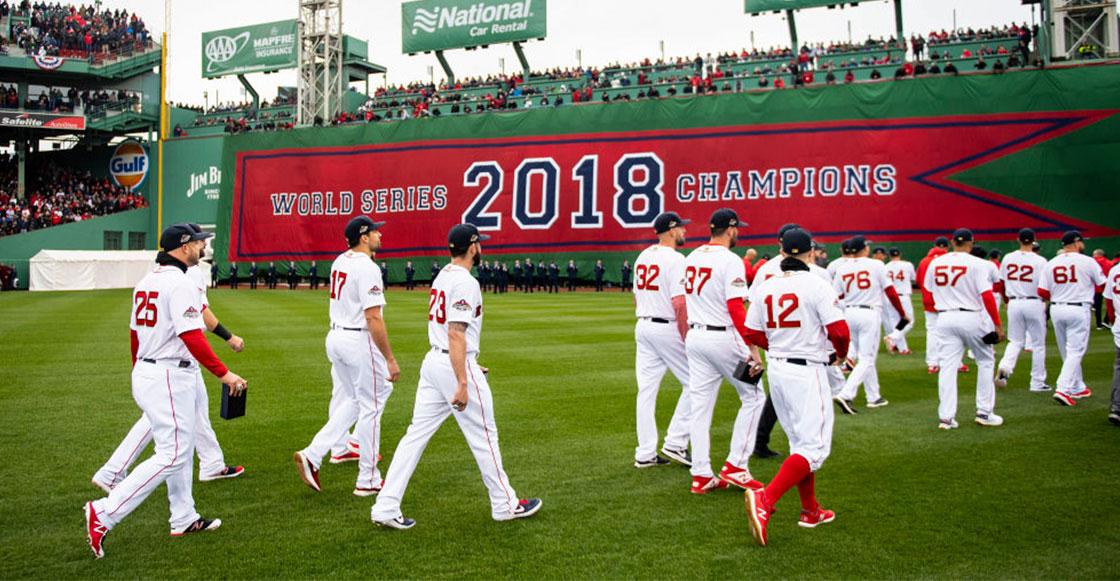 MLB sancionó a los Red Sox por robo de señales en 2018