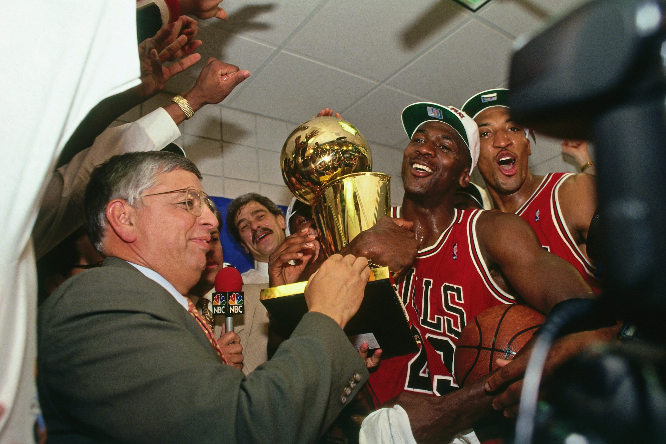 Michael Jordan el último baile o the last dance