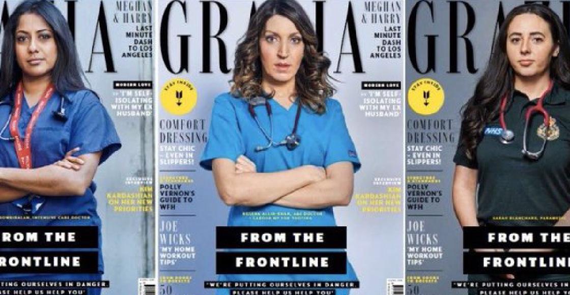 Revista dedica edición especial al personal médico que lucha contra el coronavirus