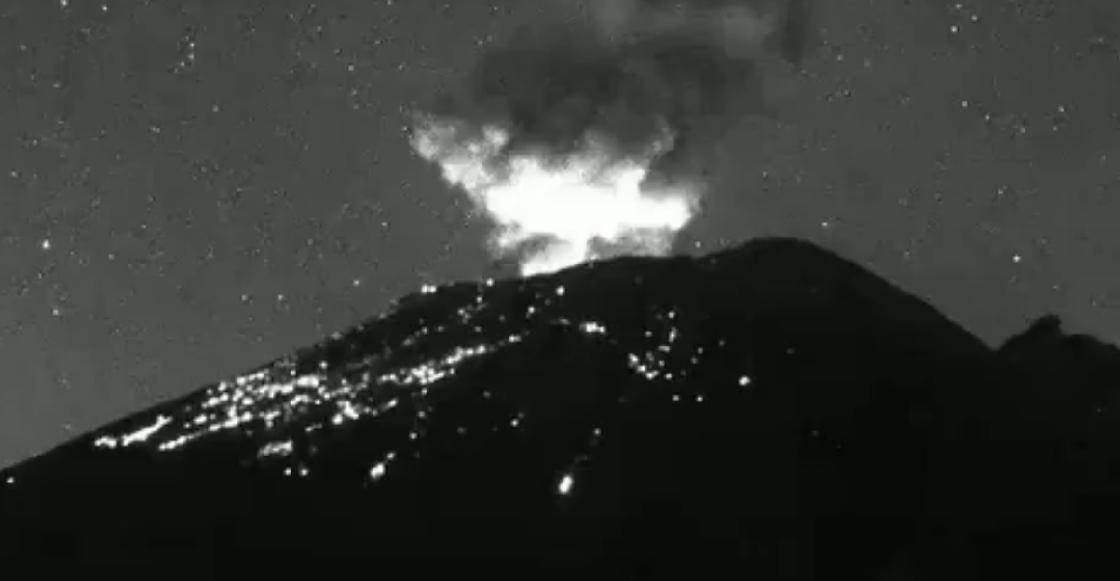 El Popocatépetl registra explosión