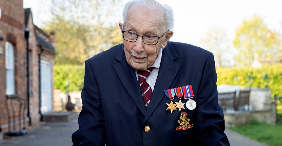 Tom Moore, el hombre de 99 años que reunió millones para la lucha contra el coronavirus