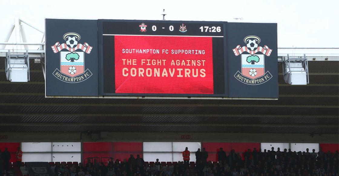 Poniendo el ejemplo: Southampton es el primer equipo de la Premier League en reducirse el salario