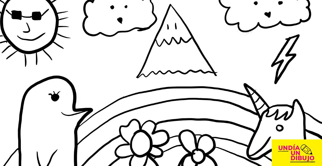 Dibujo de Sopitas para un dibujo un dia, una iniciativa para ayudar en la emergencia de COVID-19