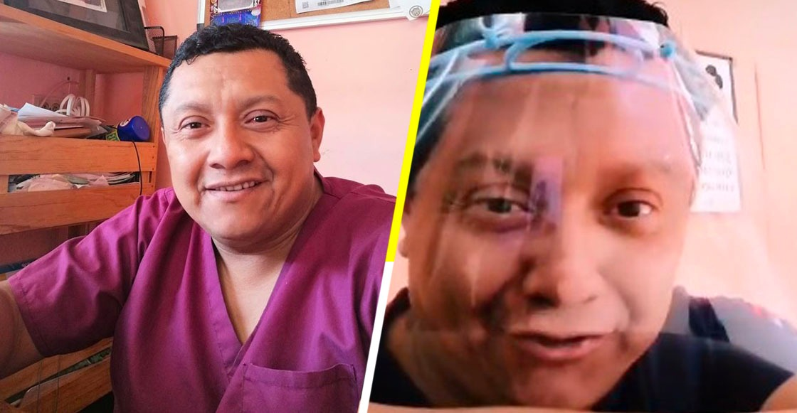 Enfermero de Mérida visita a adultos mayores sin costo para que no se expongan al coronavirus