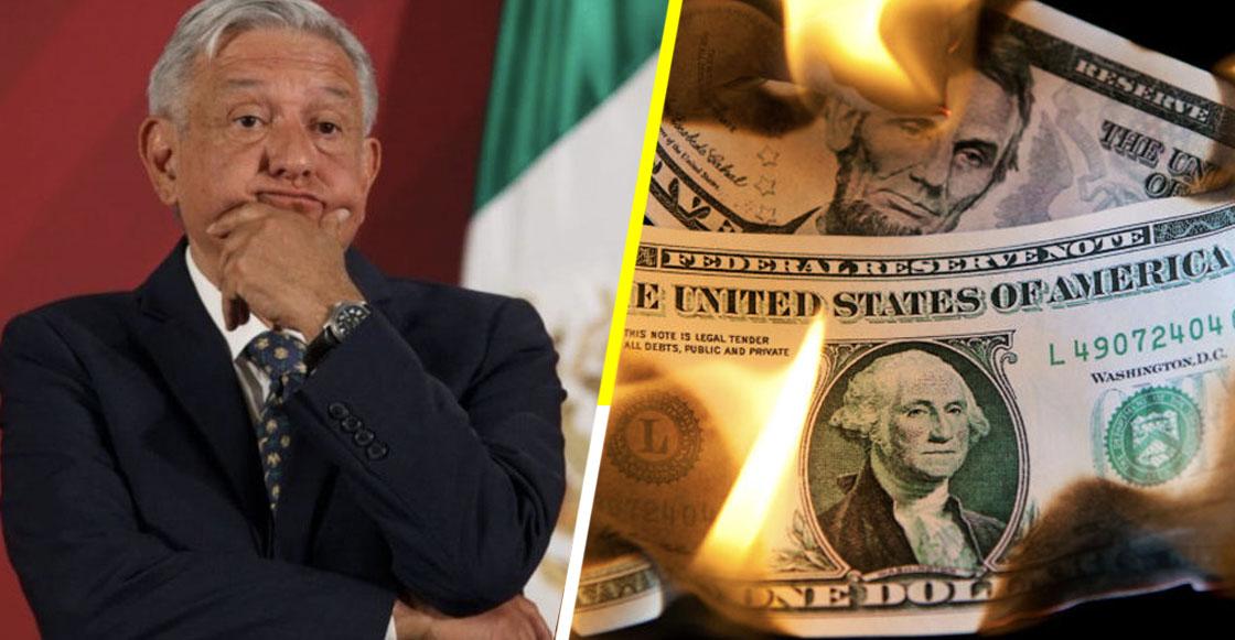 AMLO peso dolar