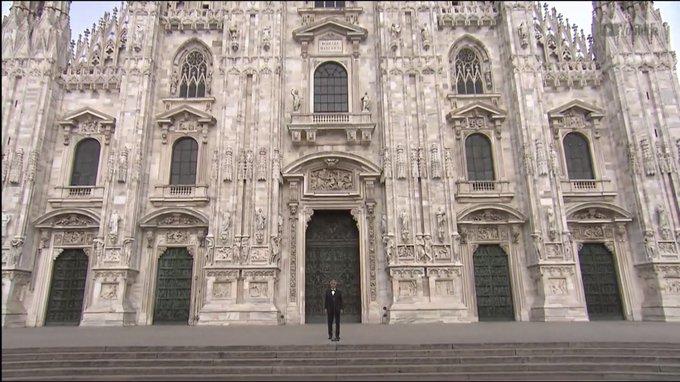 Bellísimo: Revive el concierto que Andrea Bocelli ofreció en la Catedral de Milán