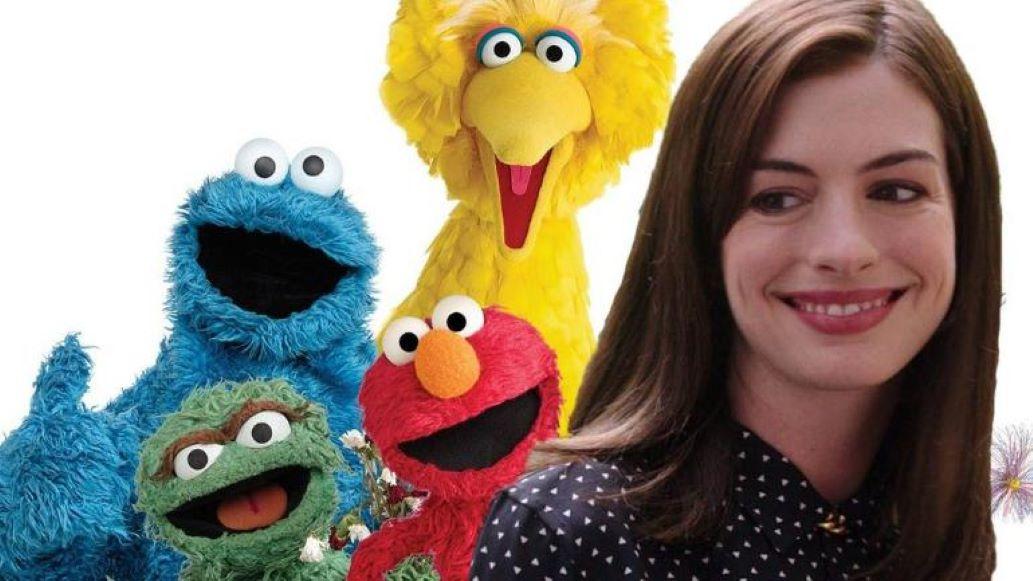 Plaza Sésamo tendrá un especial del COVID-19 con Anne Hathaway