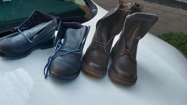 En CDMX hombres utilizan máscaras de 'La Casa de Papel' para robar... ¡¿zapatos?!