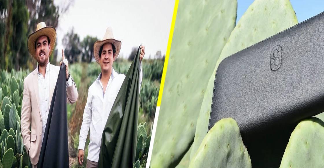 Mexicanos crean 'cuero vegano' y el mundo les aplaude