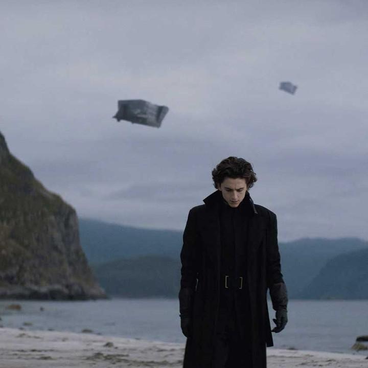 Timothée Chalamet en 'Dune'