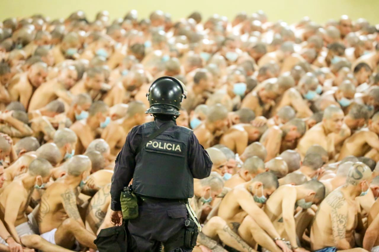 Medidas contra pandilleros en El Salvador