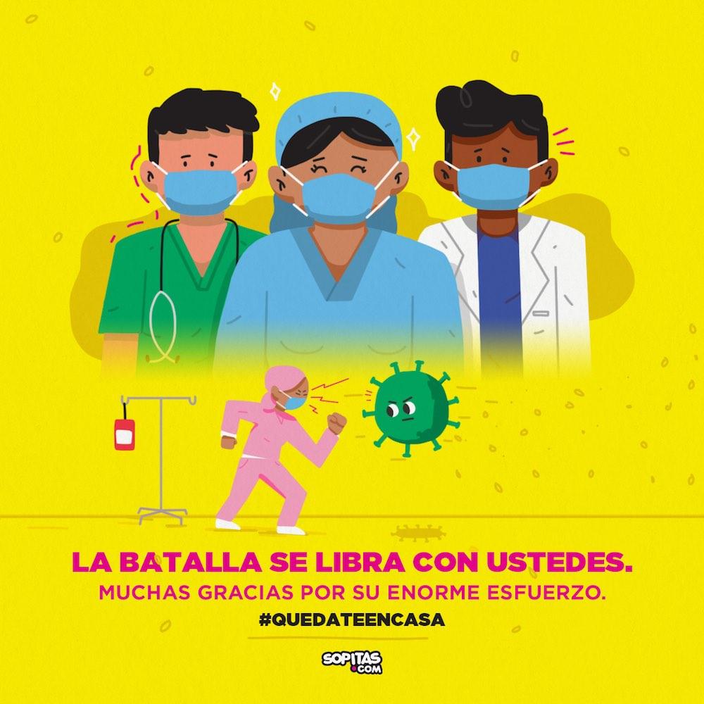enfermeros-medicos-enfermeras-coronavirus-imss