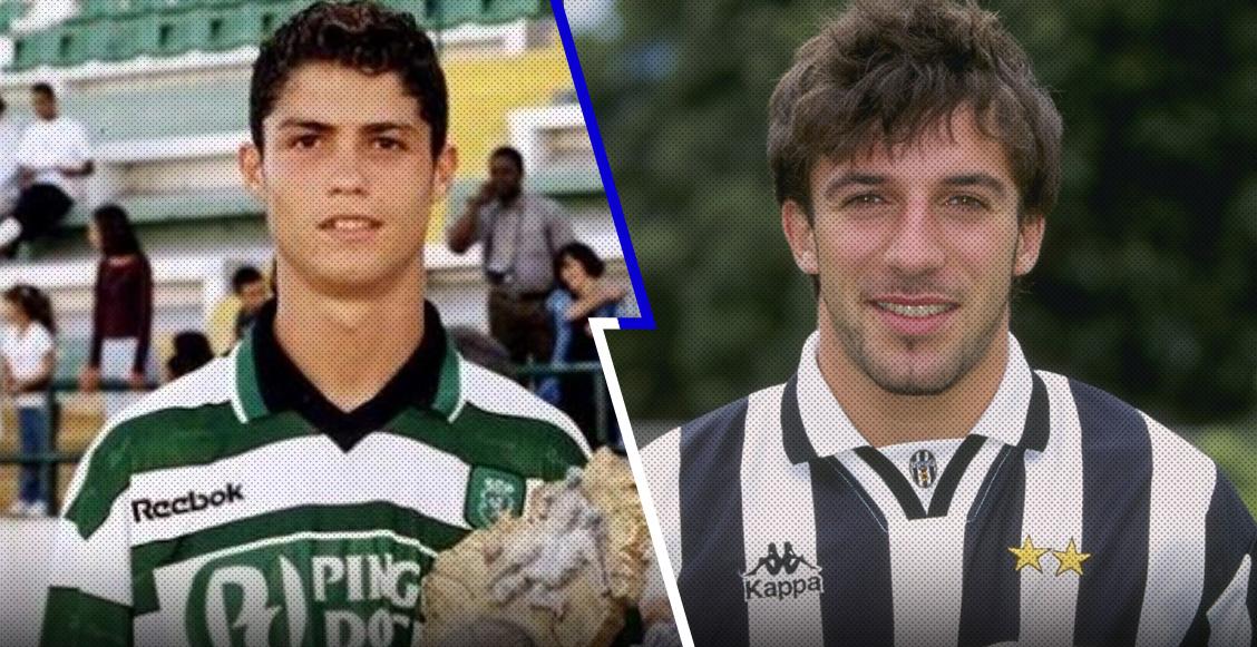El día que Cristiano y Del Piero pudieron jugar juntos en el Milan